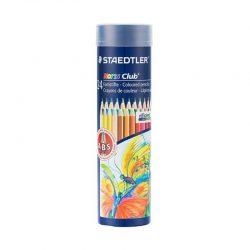 مداد رنگی ۲۴ رنگ فلزی استوانه ای STAEDTLER