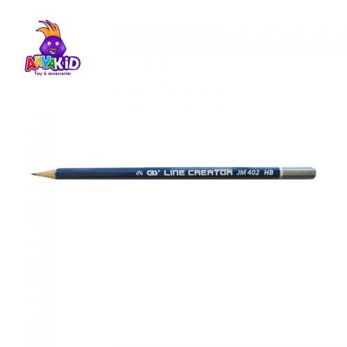 مداد مشکی CBS بسته ۱۲ عددی مدل JM 4023