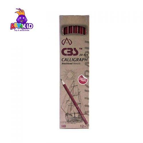 مداد مشکی CBS بسته ۱۲ عددی مدل JM 4042