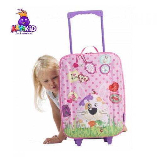 چمدان چرخدار بزرگ طرح خرگوش اوکی داگ Okiedog1
