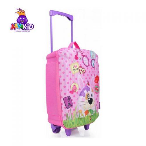 چمدان چرخدار بزرگ طرح خرگوش اوکی داگ Okiedog5