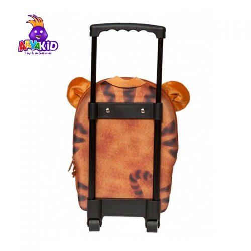 چمدان چرخدار کودک طرح ببر اوکی داگ Okiedog3