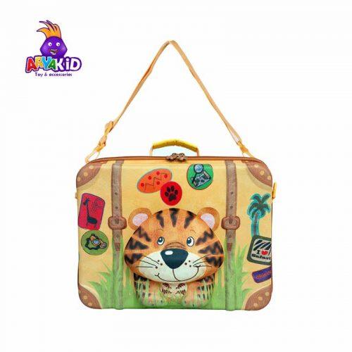 چمدان کودک طرح ببر اوکی داگ Okiedog1