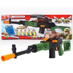 اسباب بازی تفنگ تیر ژلهای و اسفنجی مدل XH062