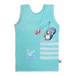 لباس نوزاد و کودک رکابی طرح پنگوئن به آوران