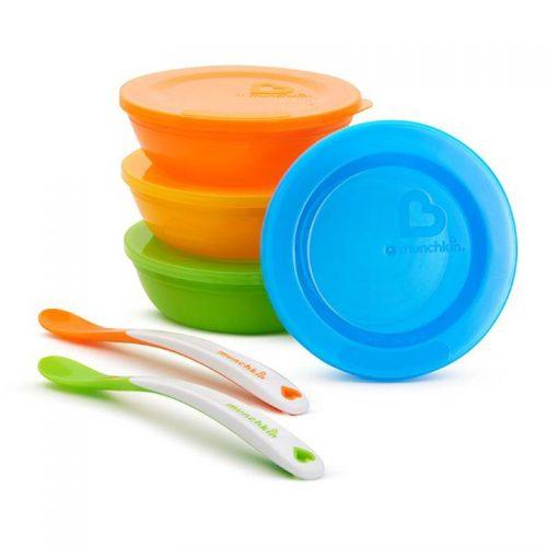 ست ظروف غذاخوری کودک مانچکین ۱۰ تکه