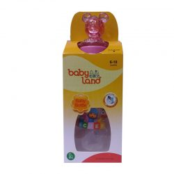 شیشه شیر عروسکی دسته دار ۲۴۰ میل baby Land