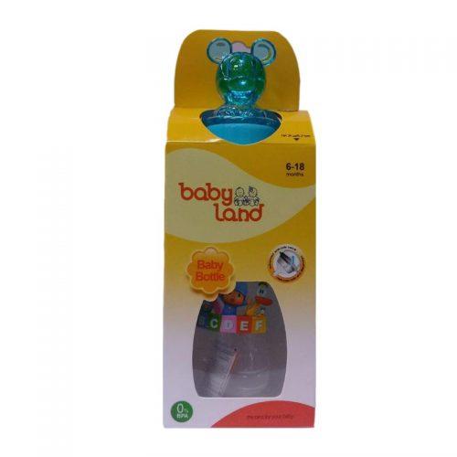 شیشه شیر عروسکی دسته دار ۲۴۰ میل baby Land1