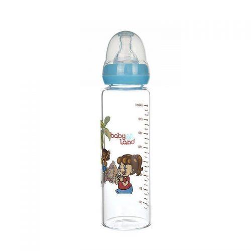 شیشه شیر پیرکس ۲۴۰ میل با سری گرد baby Land
