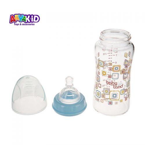 شیشه شیر پیرکس ۲۴۰ میل مدل ۴۶۲ baby Land1