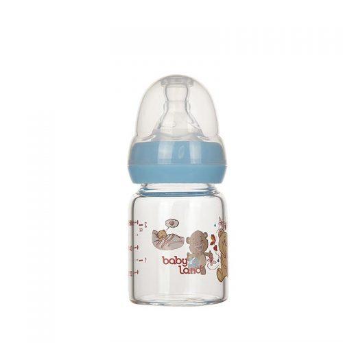 شیشه شیر پیرکس ۶۰ میل با سری گرد baby Land