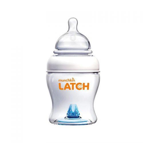 شیشه شیر ۱۲۰ میل مانچکین مدل LATCH
