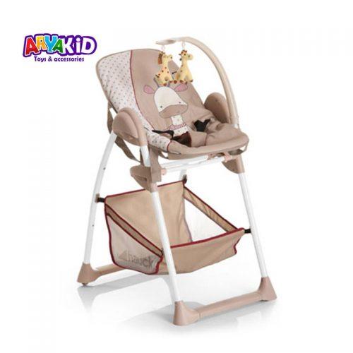 صندلی غذاخوری هاوک مدل Sit N Relax Giraffe4