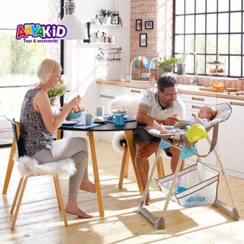 صندلی غذاخوری هاوک مدل Sit N Relax Multi Dots2