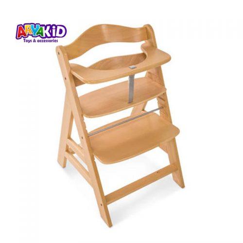صندلی غذاخوری چوبی هاوک مدل +Alpha1