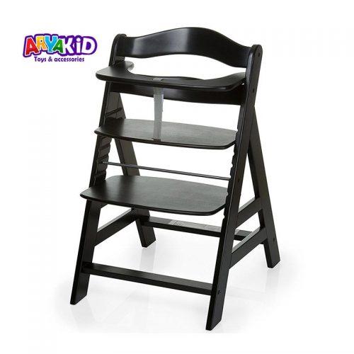 صندلی غذاخوری چوبی هاوک مدل +Alpha23