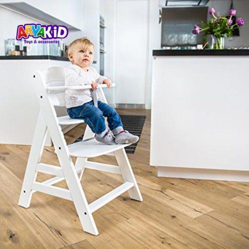 صندلی غذاخوری چوبی هاوک مدل +Alpha6