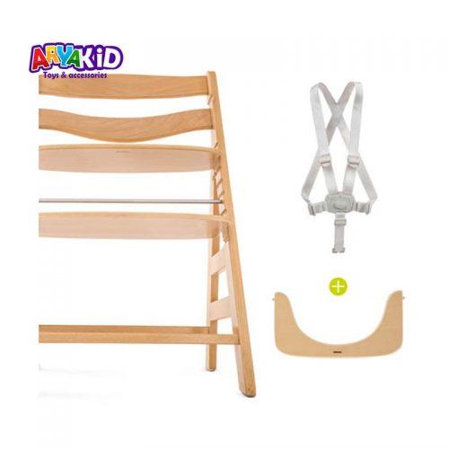 صندلی غذاخوری چوبی هاوک مدل +Alpha8