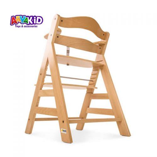 صندلی غذاخوری چوبی هاوک مدل +Alpha9
