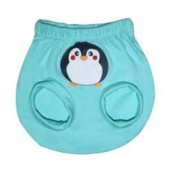 شورت پوشکی نوزاد طرح پنگوئن به آوران