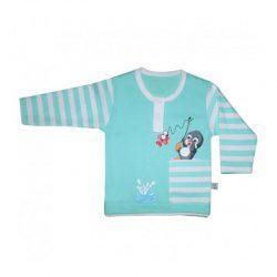 لباس نوزاد و کودک آستین بلند طرح پنگوئن به آوران