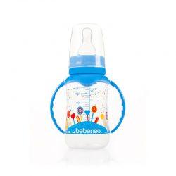 شیشه شیر دسته دار ۱۴۰ میل Bebeneo