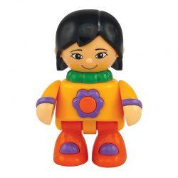عروسک دختر آسیایی تولو