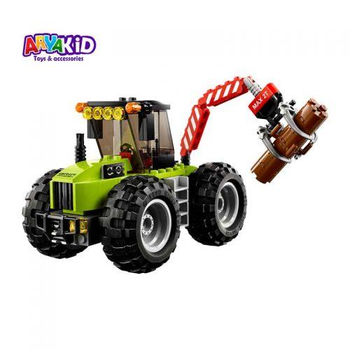 لگو تراکتور جنگل ۱۷۴ قطعه سری LEGO CITY1