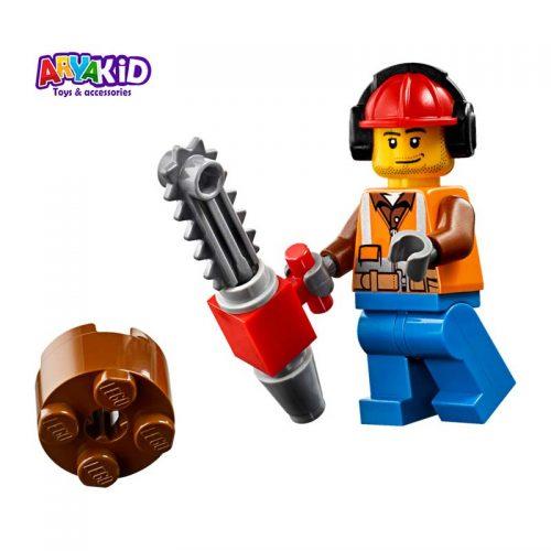 لگو تراکتور جنگل ۱۷۴ قطعه سری LEGO CITY4