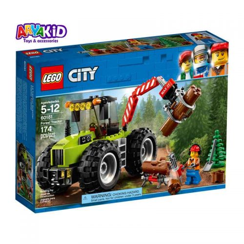 لگو تراکتور جنگل ۱۷۴ قطعه سری LEGO CITY5