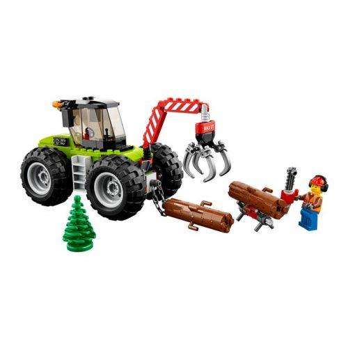 لگو تراکتور جنگل ۱۷۴ قطعه سری LEGO CITY