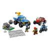 لگو تعقیب در جاده خاکی ۲۹۷ قطعه سری LEGO CITY
