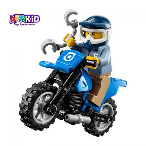 لگو تعقیب و گریز ۳۷ قطعه سری LEGO CITY3