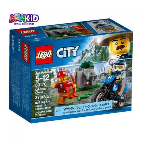 لگو تعقیب و گریز ۳۷ قطعه سری LEGO CITY7