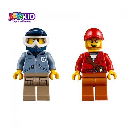 لگو تعقیب و گریز ۳۷ قطعه سری LEGO CITY