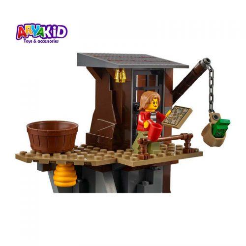 لگو دستگیری در کوهستان ۳۰۳ قطعه سری LEGO CITY2