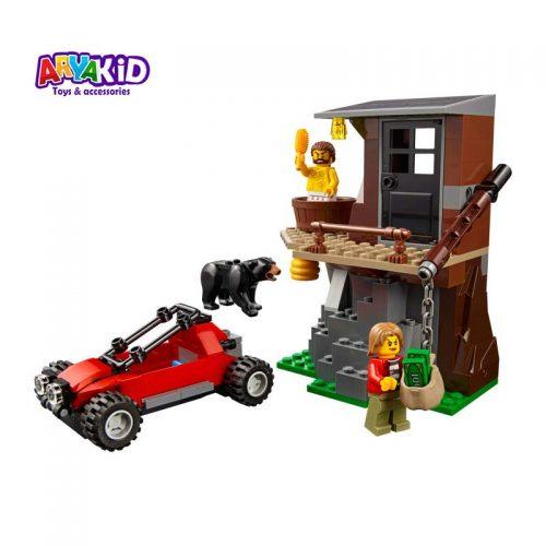 لگو دستگیری در کوهستان ۳۰۳ قطعه سری LEGO CITY4