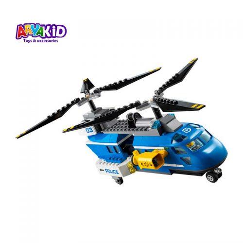 لگو دستگیری در کوهستان ۳۰۳ قطعه سری LEGO CITY5