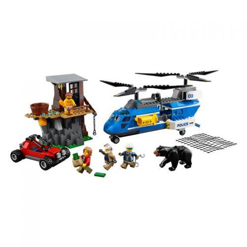 لگو دستگیری در کوهستان ۳۰۳ قطعه سری LEGO CITY