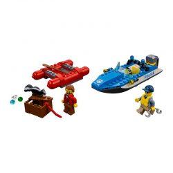 لگو فرار با قایق ۱۲۶ قطعه سری LEGO CITY