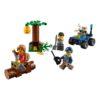لگو فرار در کوهستان ۸۸ قطعه سری LEGO CITY