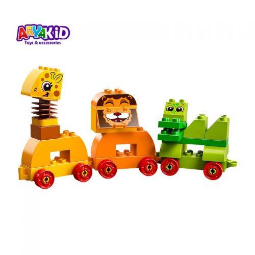 لگو قطار حیوانات ۳۴ قطعه سری LEGO DUPLO1