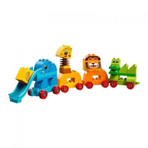 لگو قطار حیوانات ۳۴ قطعه سری LEGO DUPLO