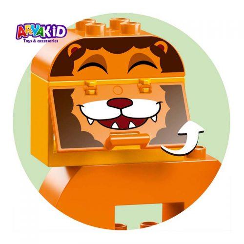 لگو قطار حیوانات ۳۴ قطعه سری LEGO DUPLO7