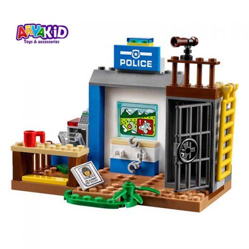 لگو پلیس کوهستان ۱۱۵ قطعه سری LEGO JUNIORS1