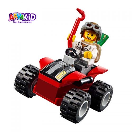 لگو پلیس کوهستان ۱۱۵ قطعه سری LEGO JUNIORS3