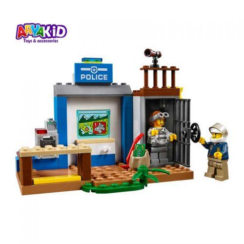 لگو پلیس کوهستان ۱۱۵ قطعه سری LEGO JUNIORS4
