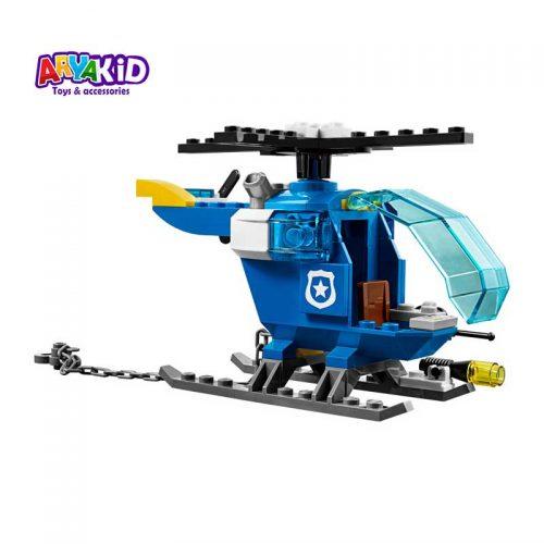 لگو پلیس کوهستان ۱۱۵ قطعه سری LEGO JUNIORS5