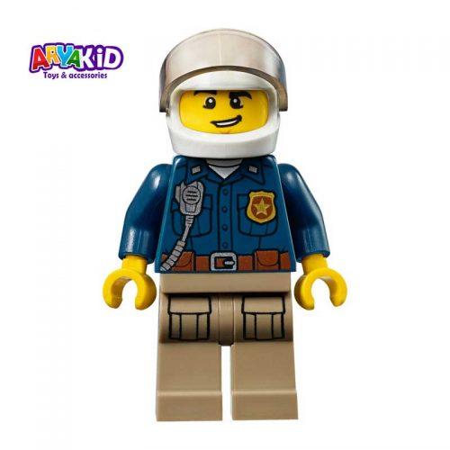 لگو پلیس کوهستان ۱۱۵ قطعه سری LEGO JUNIORS7