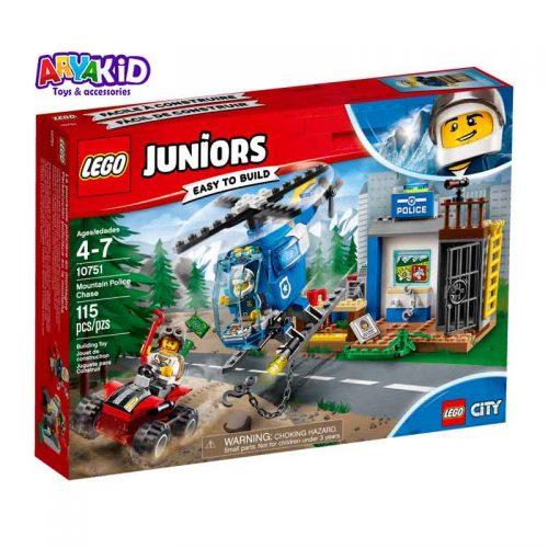 لگو پلیس کوهستان ۱۱۵ قطعه سری LEGO JUNIORS9